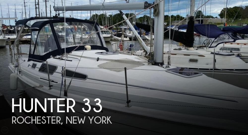 Used Hunter Sailboats For Sale in New York by owner | 2006 Hunter 33