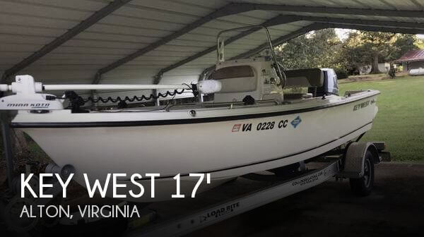 Used Boats For Sale in Lynchburg, Virginia by owner | 2015 Key West 17