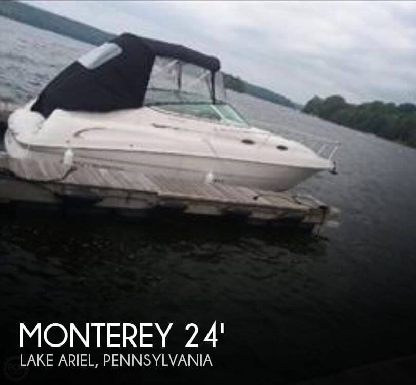 Used Boats For Sale in Scranton, Pennsylvania by owner | 2000 Monterey 24