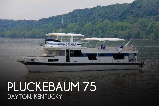 Used Houseboats For Sale by owner | 1978 Pluckebalm 75