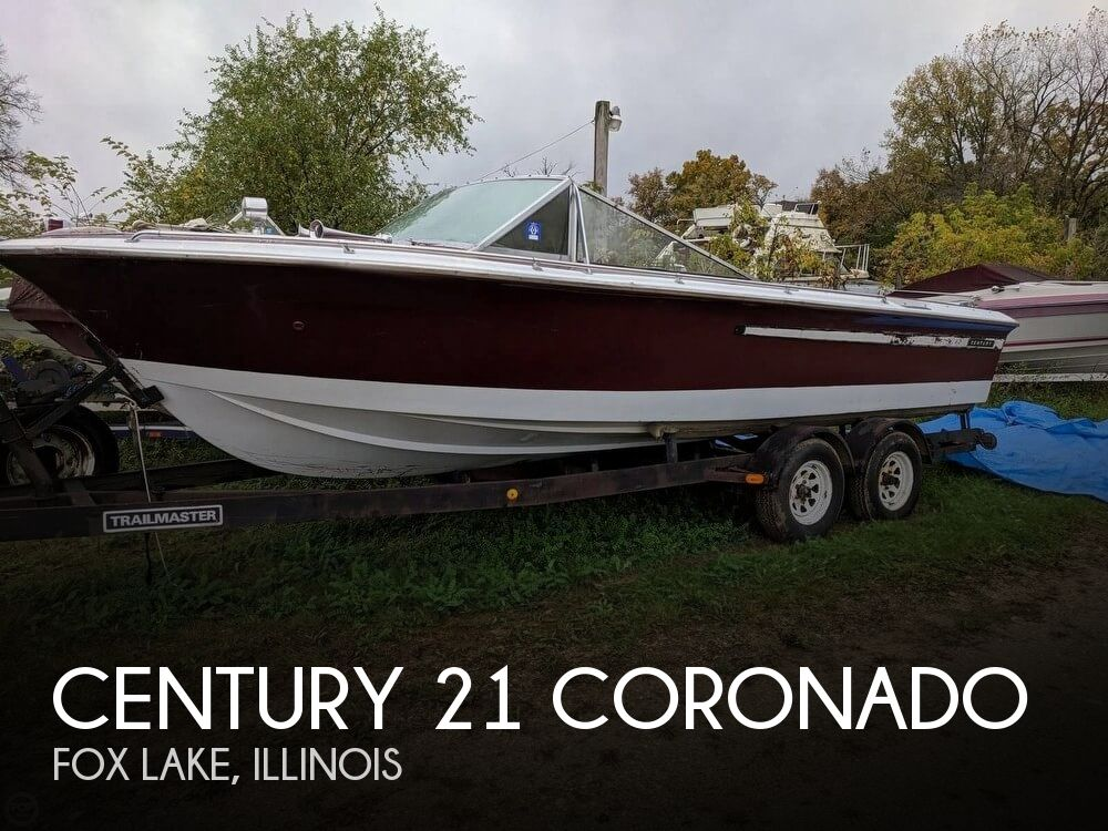 1970 Century boat for sale, model of the boat is 21 Coronado & Image # 1 of 40