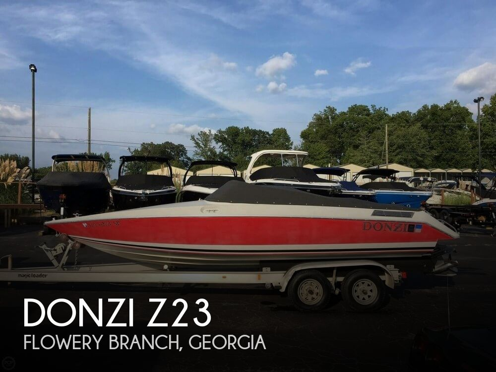 Used Boats For Sale by owner | 1989 Donzi 23
