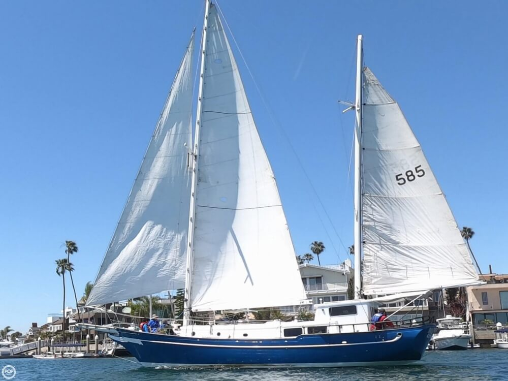 1972 Ta Chiao boat for sale, model of the boat is Formosa 45 Ketch & Image # 2 of 40