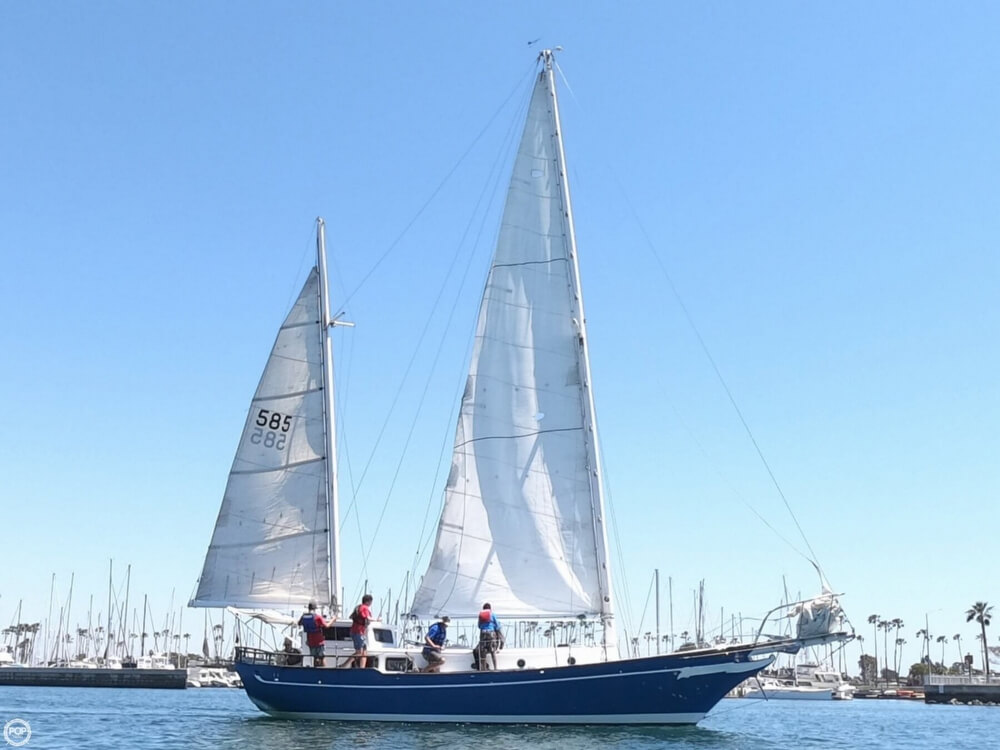 1972 Ta Chiao boat for sale, model of the boat is Formosa 45 Ketch & Image # 4 of 40