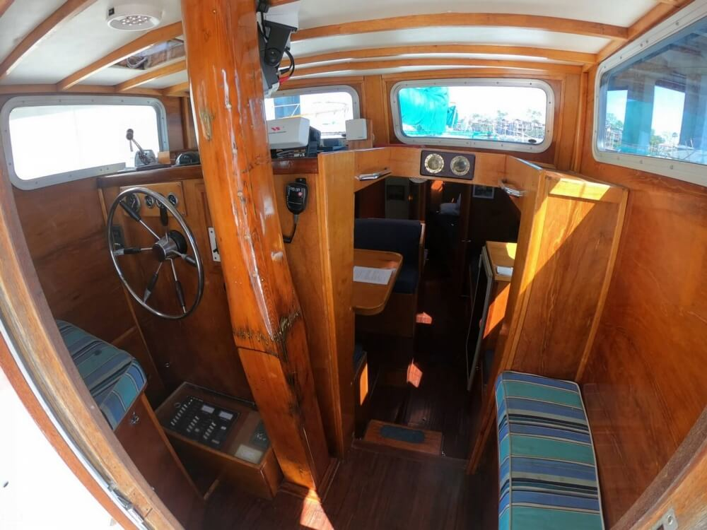 1972 Ta Chiao boat for sale, model of the boat is Formosa 45 Ketch & Image # 9 of 40