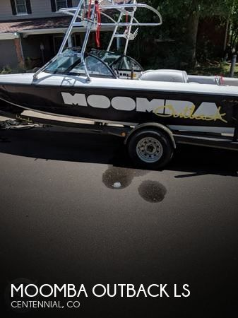 Used Boats For Sale in Colorado Springs, Colorado by owner | 1999 21 foot Moomba Outback LS