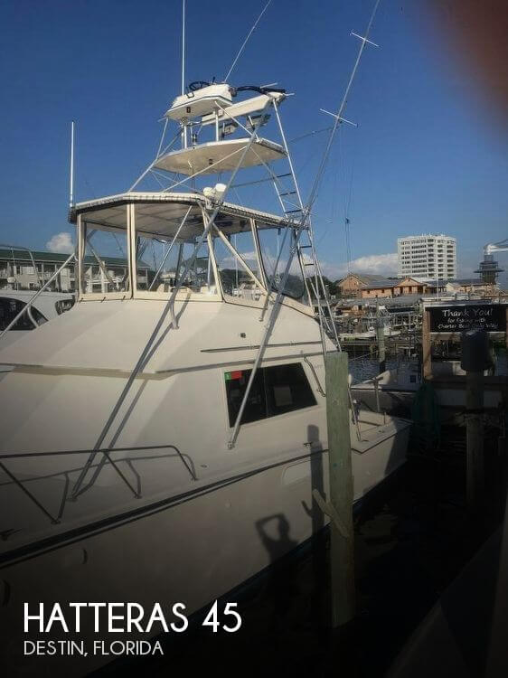 Used HATTERAS Boats For Sale by owner | 1984 Hatteras 45