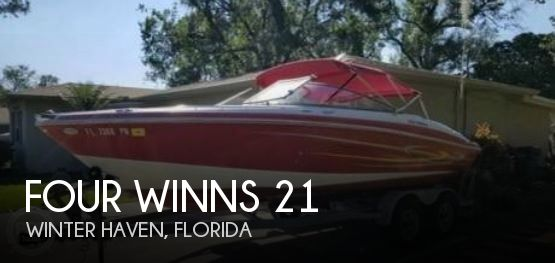 Used Four Winns Boats For Sale in Florida by owner | 2005 Four Winns 21