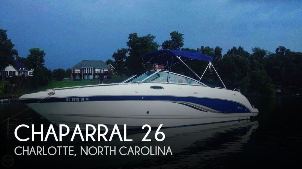 Used Chaparral Boats For Sale in Spartanburg, South Carolina by owner | 2006 Chaparral 26