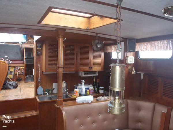 1984 Sea Finn boat for sale, model of the boat is 411 Motorsailer & Image # 6 of 40