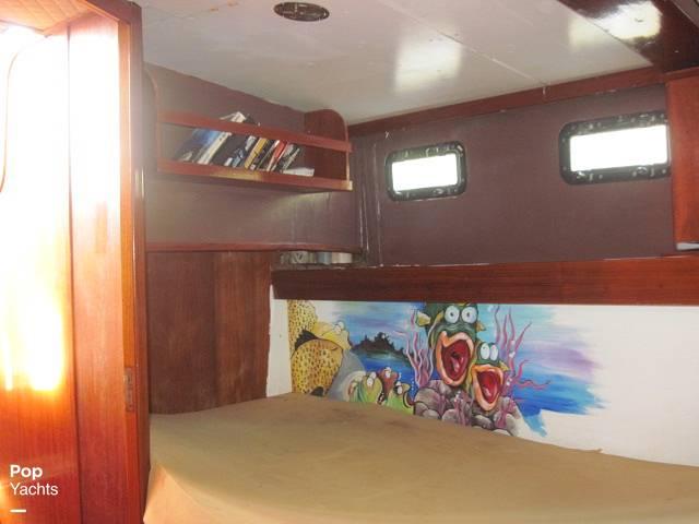1984 Sea Finn boat for sale, model of the boat is 411 Motorsailer & Image # 28 of 40