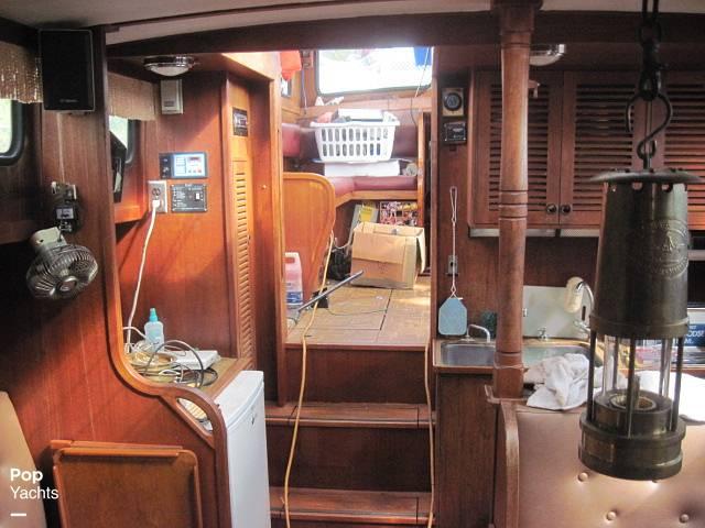 1984 Sea Finn boat for sale, model of the boat is 411 Motorsailer & Image # 33 of 40