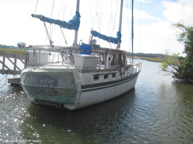 1984 Sea Finn boat for sale, model of the boat is 411 Motorsailer & Image # 2 of 40