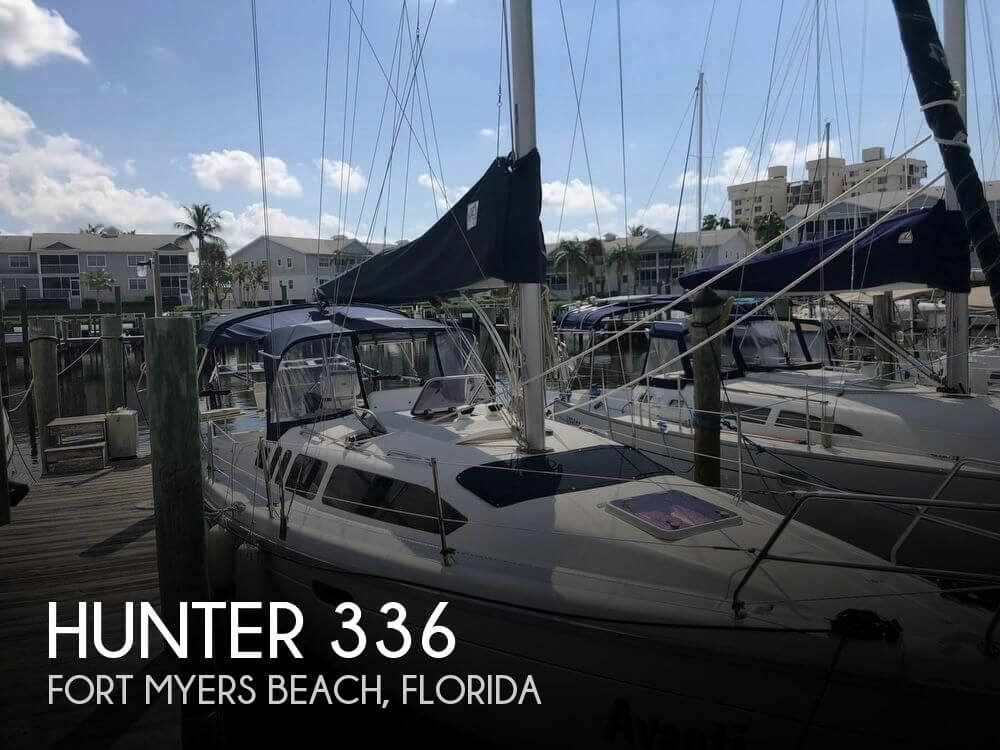 Used Hunter Sailboats For Sale in Florida by owner | 1996 Hunter 336