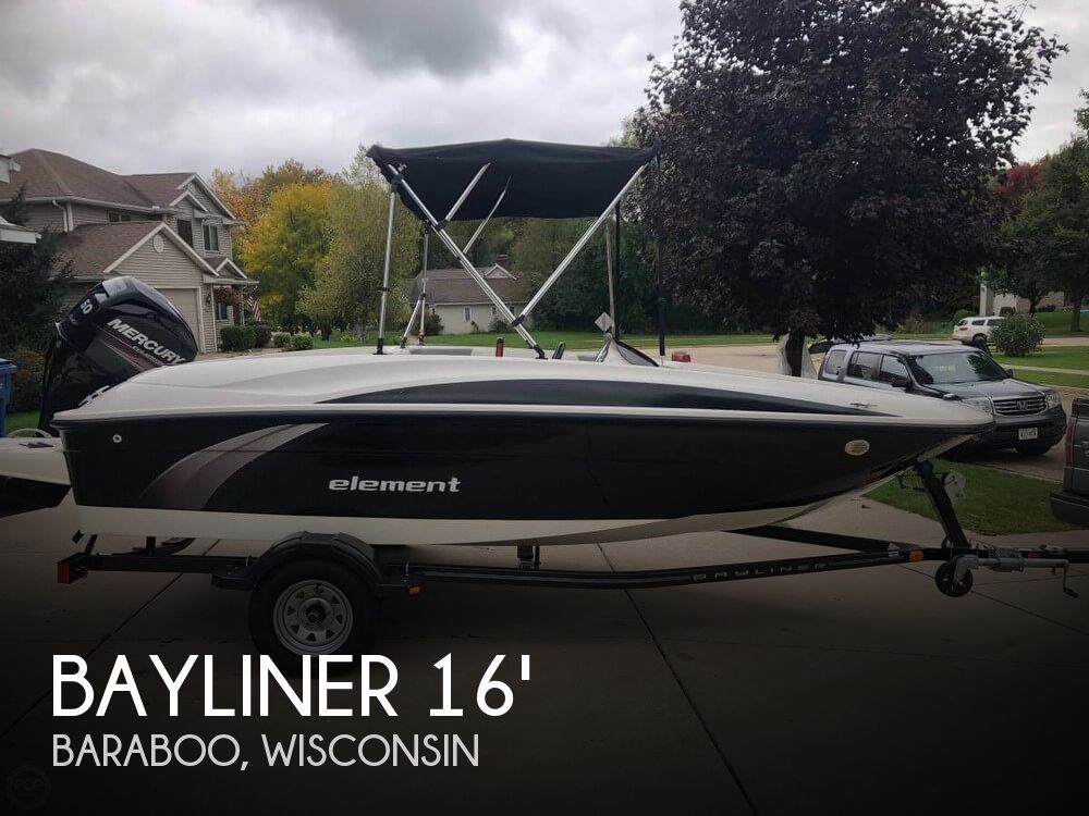 Used Boats For Sale by owner | 2014 Bayliner 16