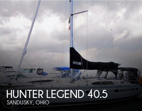 Used Boats For Sale in Cleveland, Ohio by owner | 1996 Hunter Legend 40.5