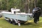 Shallow Draft Bay Boat