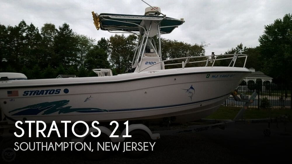 Used Stratos Boats For Sale by owner | 1998 Stratos 21