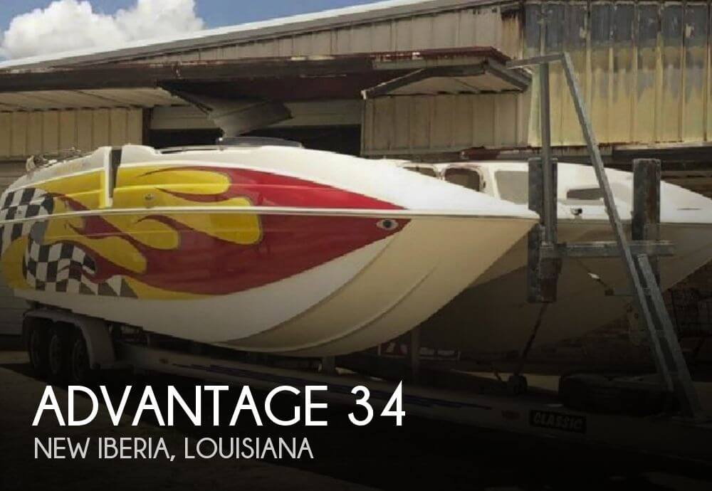 Used Boats For Sale in Baton Rouge, Louisiana by owner | 2005 Advantage 34
