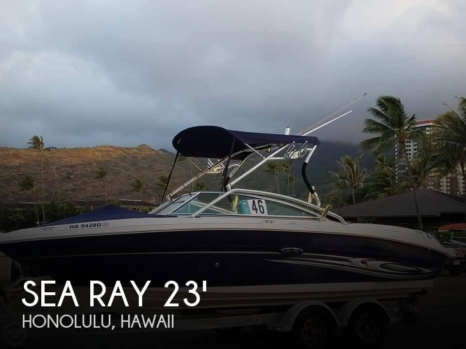 Used Boats For Sale in Honolulu, Hawaii by owner | 2005 Sea Ray 23