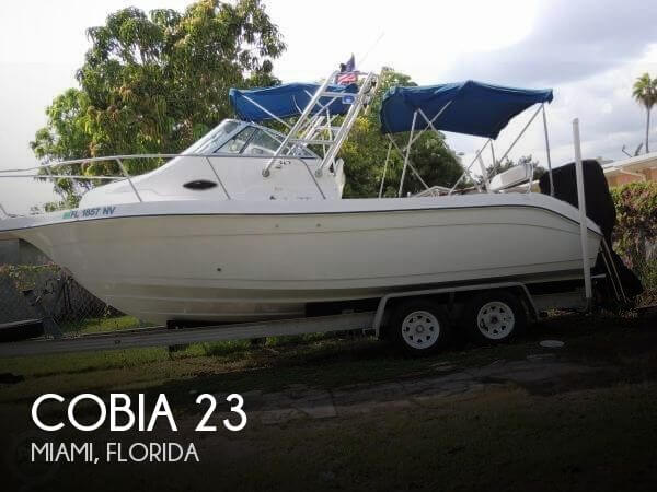 Used Cobia Boats For Sale by owner | 2001 Cobia 23