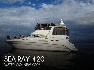 Used Boats For Sale in Syracuse, New York by owner | 1998 Sea Ray 45