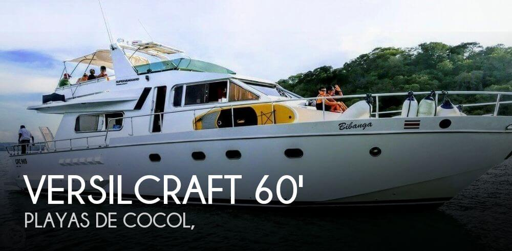 Used Boats For Sale in Costa Rica by owner | 1979 60 foot Versilcraft Superphantom