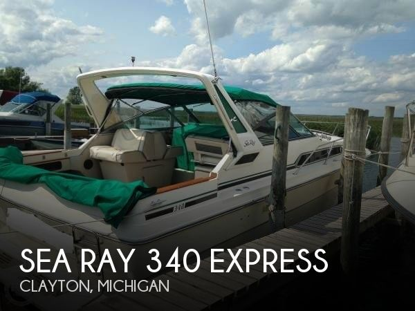 Used Boats For Sale by owner | 1986 Sea Ray 34