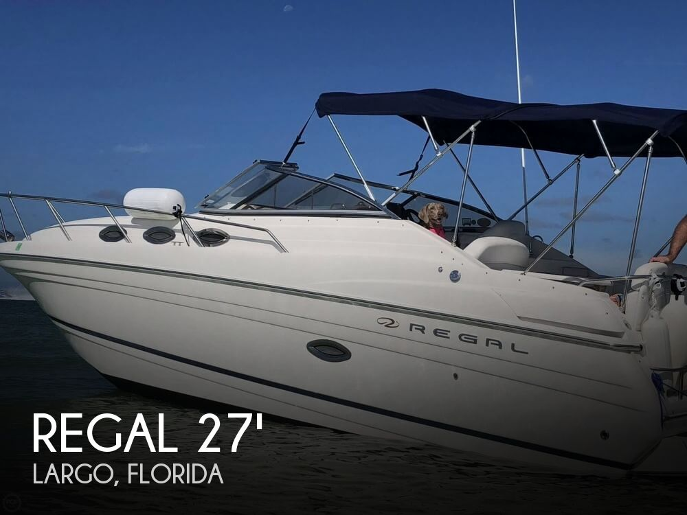 Used Regal Boats For Sale in Florida by owner | 2006 Regal 27
