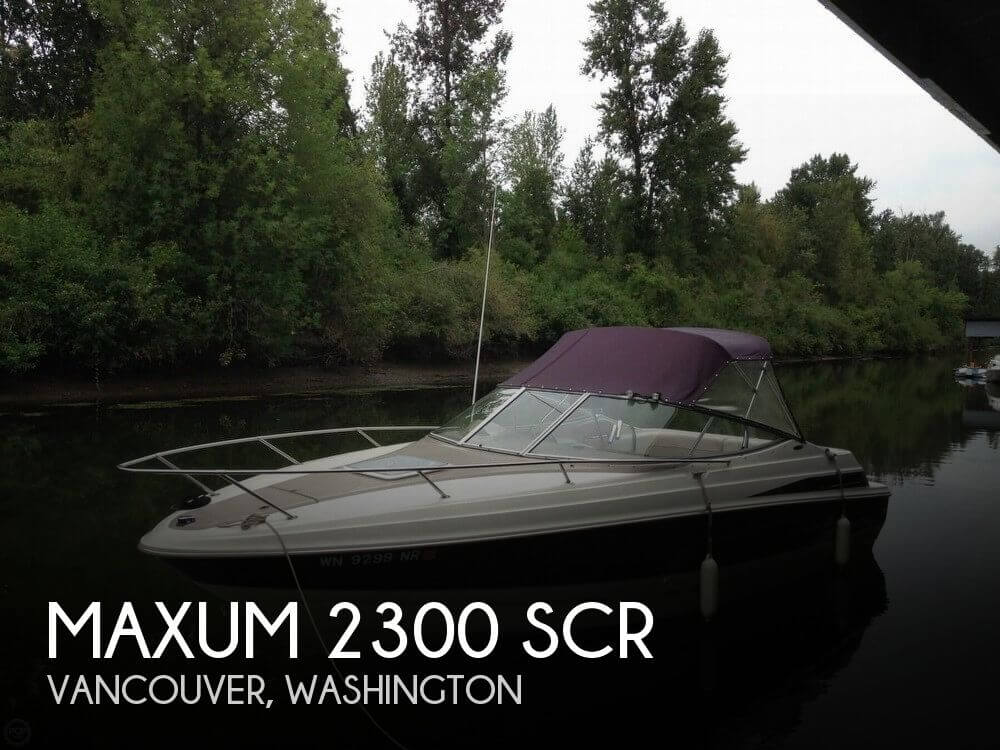 Used Maxum Boats For Sale in Washington by owner | 1999 Maxum 23