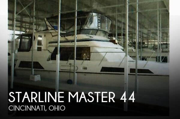 Used Boats For Sale in Dayton, Ohio by owner | 1989 Starline 44