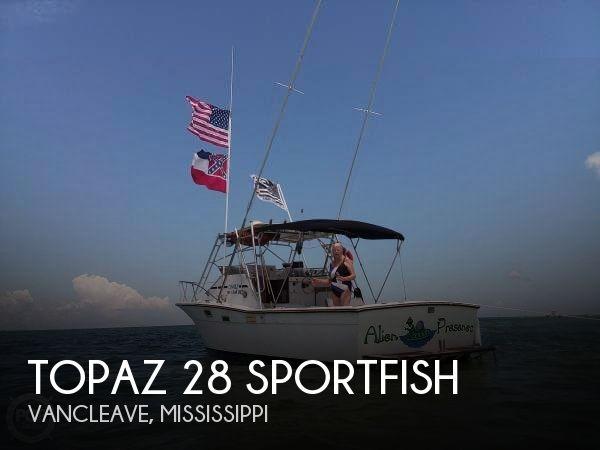 1980 Topaz boat for sale, model of the boat is 28 Sportfish & Image # 1 of 34