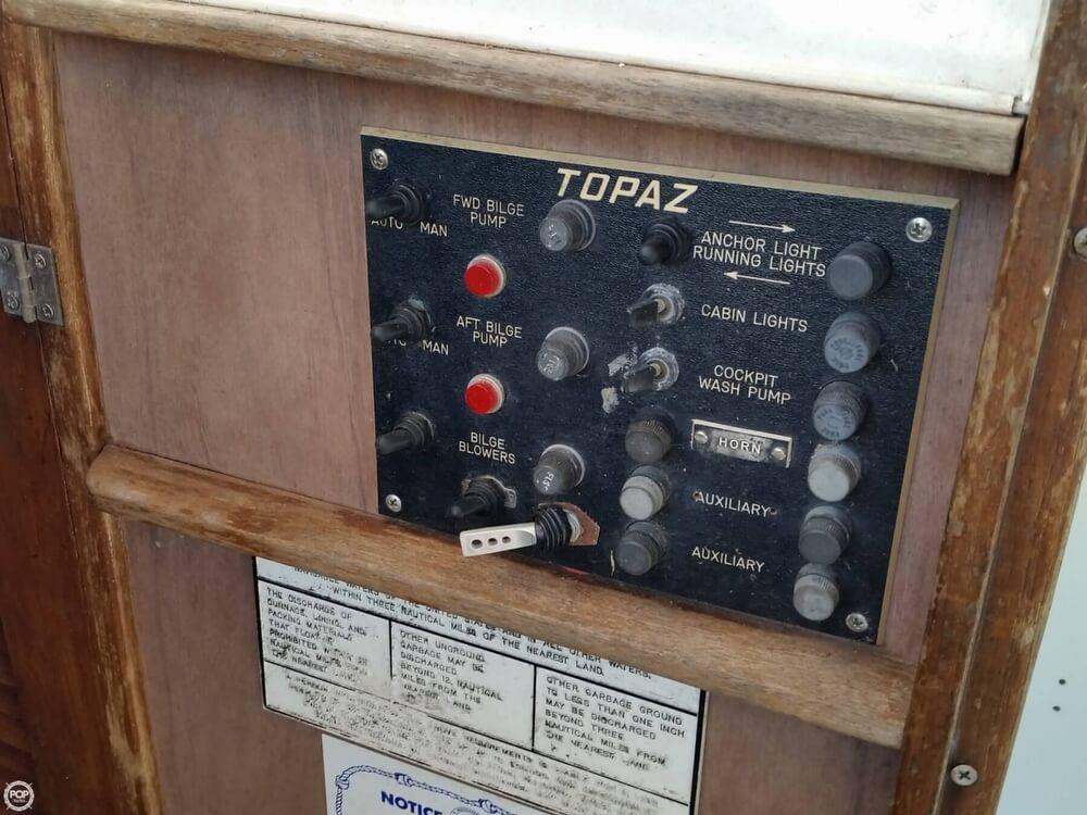 1980 Topaz boat for sale, model of the boat is 28 Sportfish & Image # 26 of 34