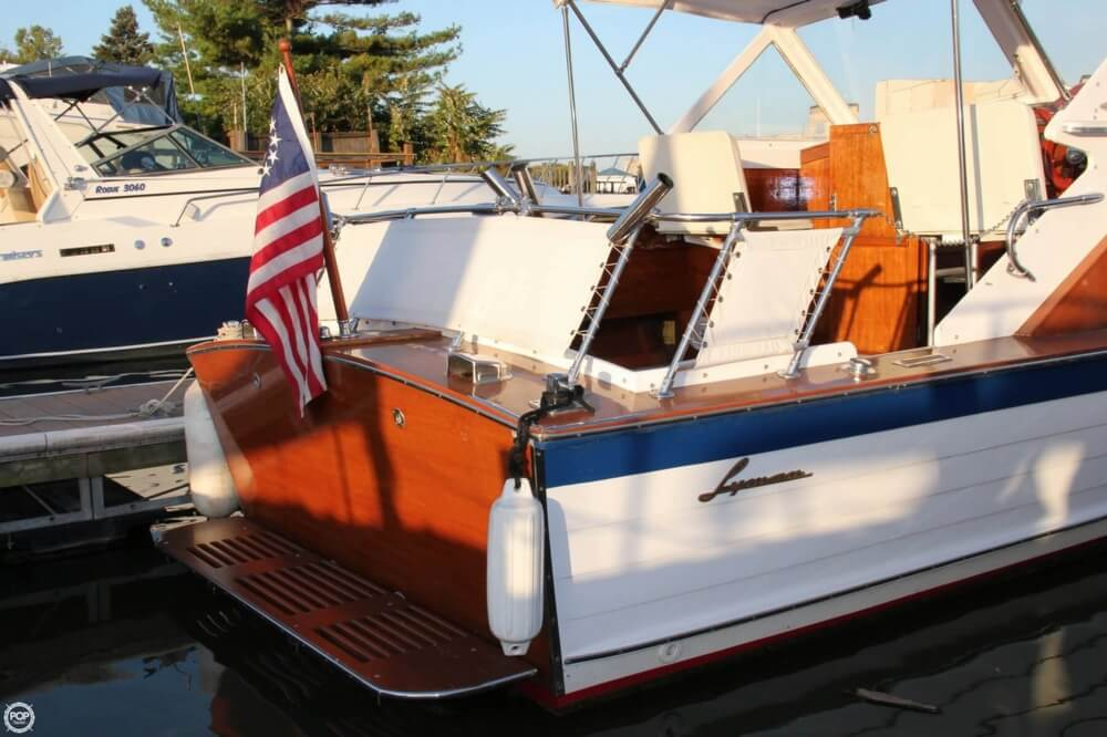 1969 Lyman boat for sale, model of the boat is 26 Express Cruiser & Image # 11 of 40