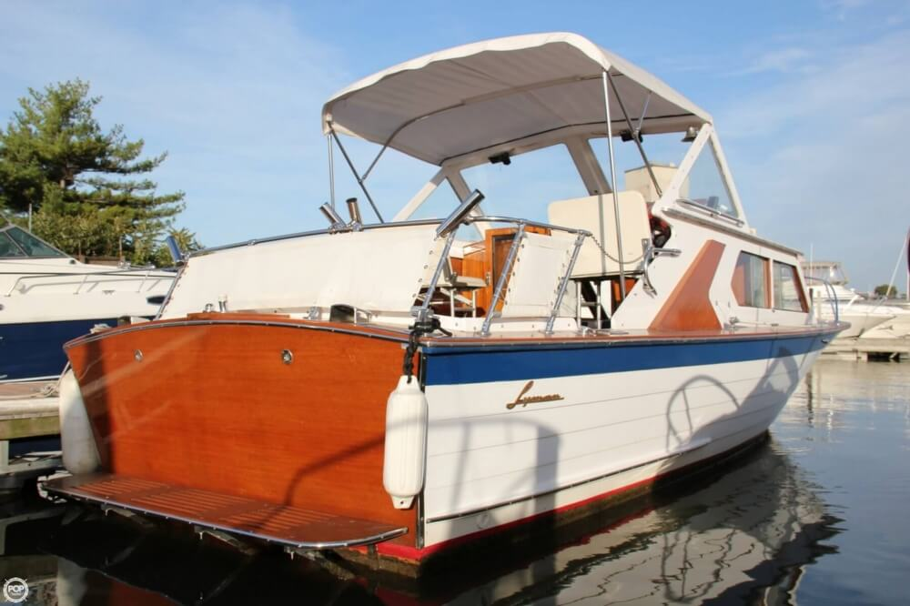 1969 Lyman boat for sale, model of the boat is 26 Express Cruiser & Image # 15 of 40