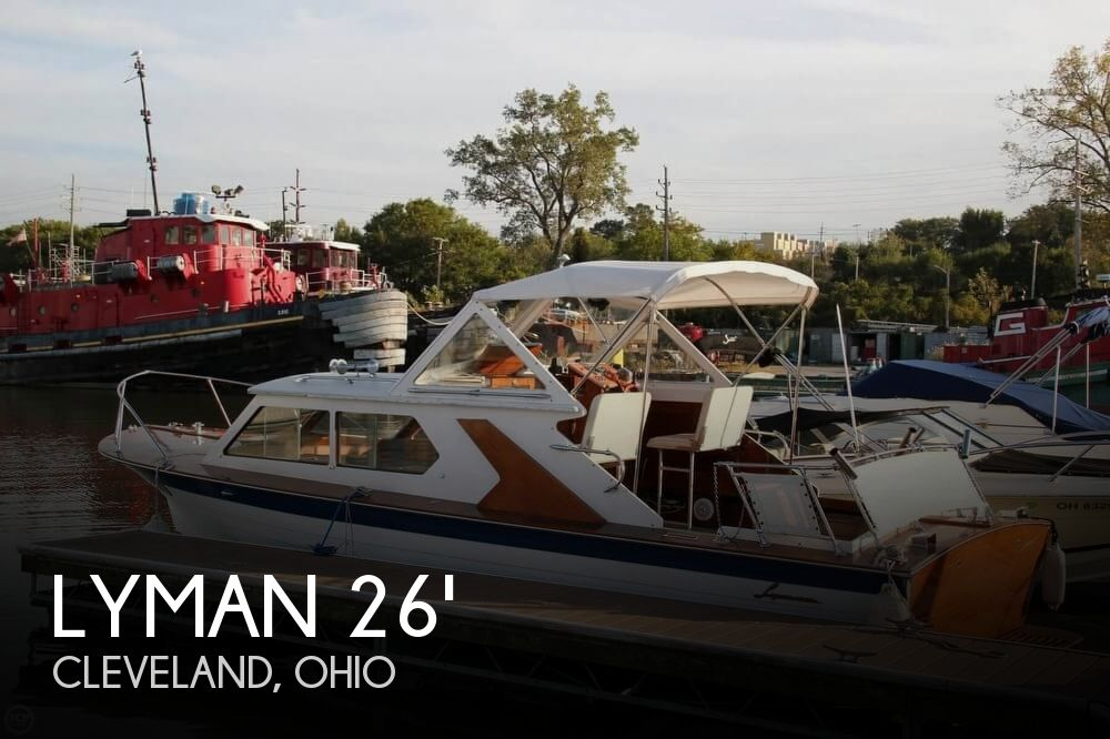 1969 Lyman boat for sale, model of the boat is 26 Express Cruiser & Image # 1 of 40