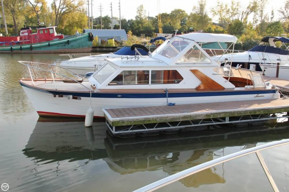 1969 Lyman boat for sale, model of the boat is 26 Express Cruiser & Image # 12 of 40