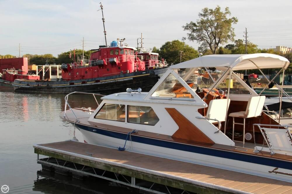 1969 Lyman boat for sale, model of the boat is 26 Express Cruiser & Image # 17 of 40