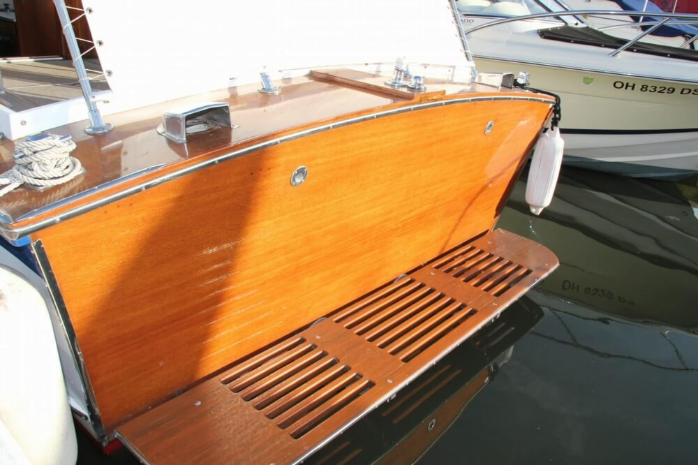 1969 Lyman boat for sale, model of the boat is 26 Express Cruiser & Image # 19 of 40