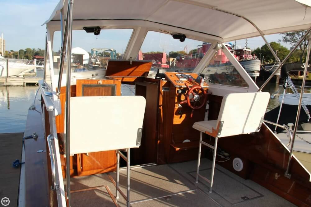 1969 Lyman boat for sale, model of the boat is 26 Express Cruiser & Image # 20 of 40