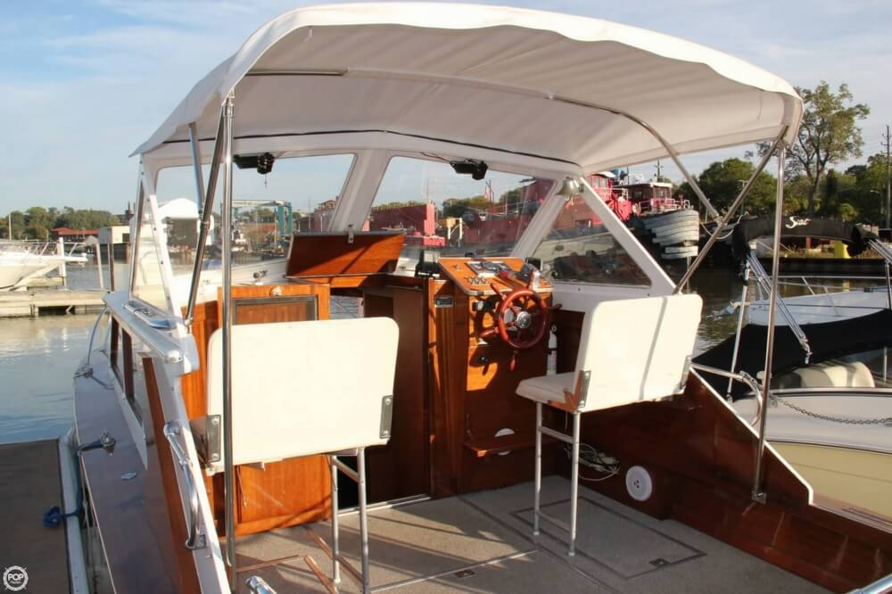 1969 Lyman boat for sale, model of the boat is 26 Express Cruiser & Image # 21 of 40