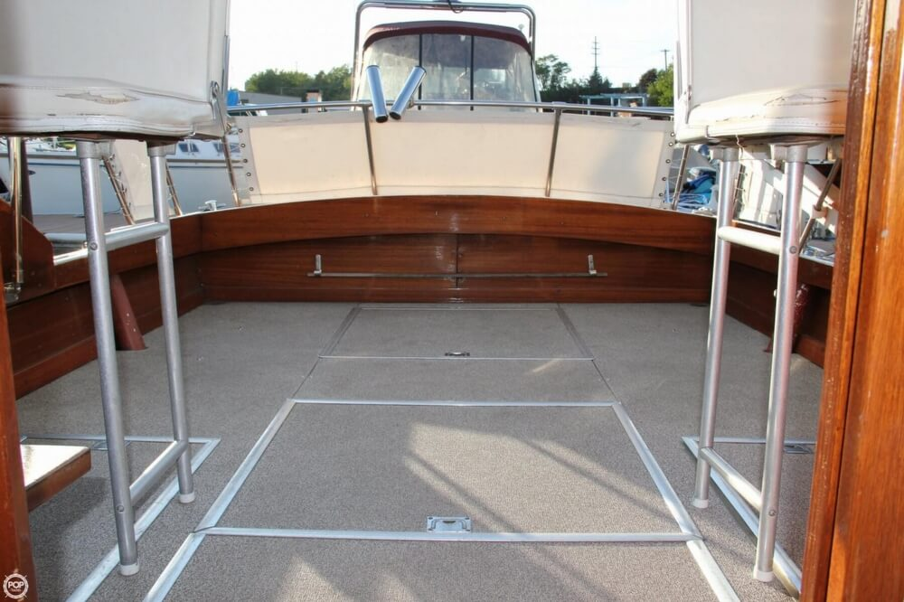 1969 Lyman boat for sale, model of the boat is 26 Express Cruiser & Image # 39 of 40