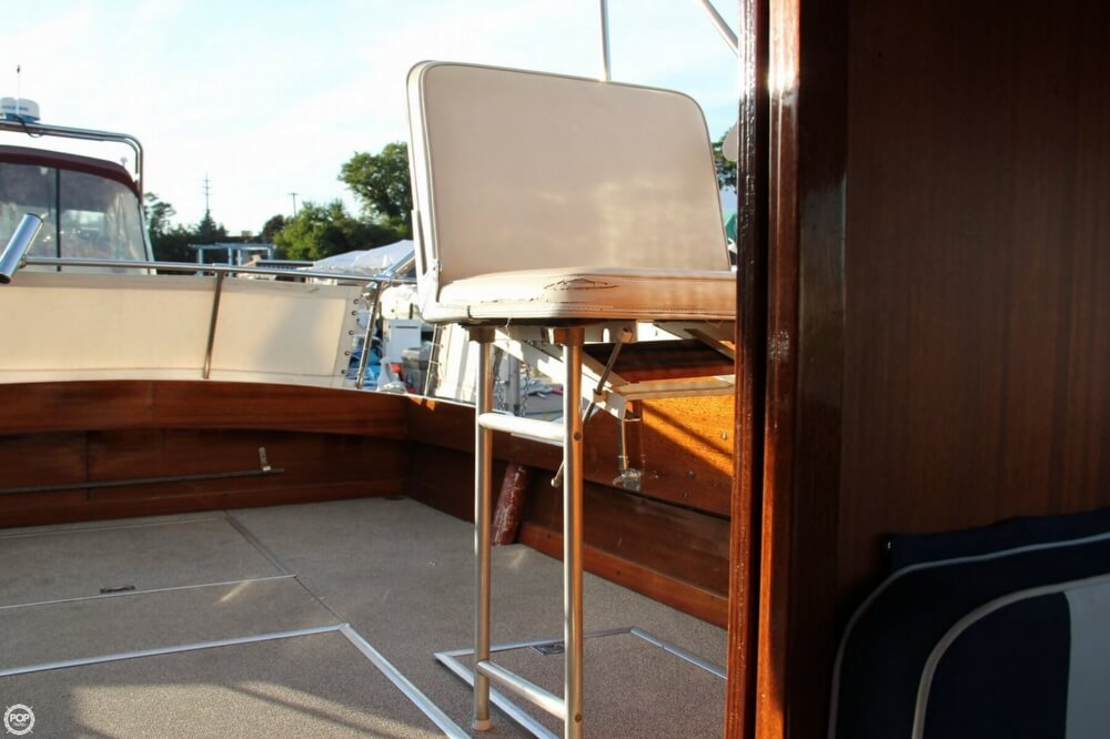 1969 Lyman boat for sale, model of the boat is 26 Express Cruiser & Image # 40 of 40