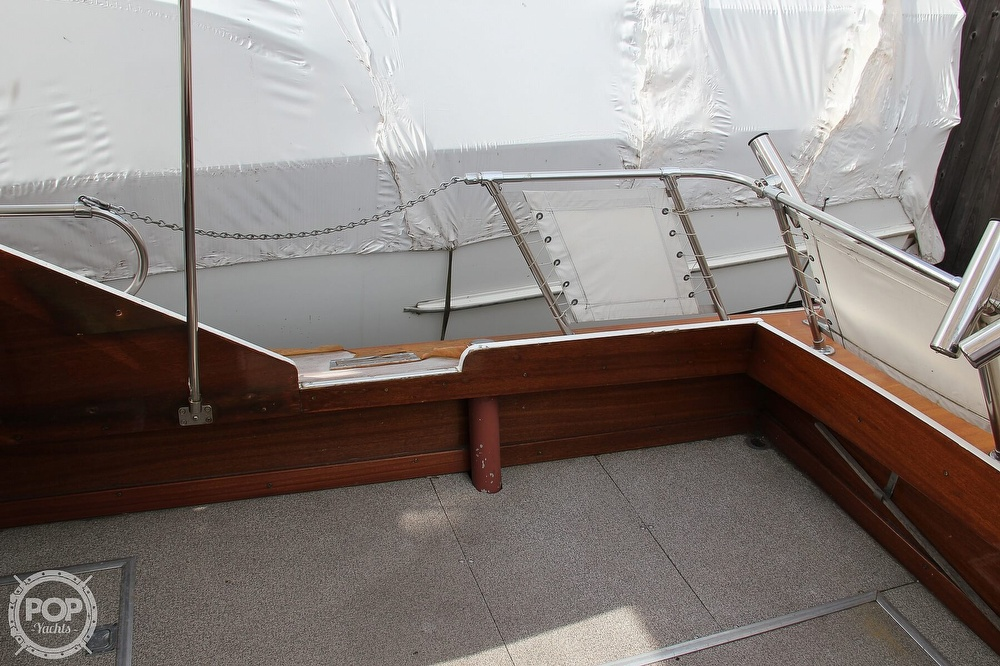 1969 Lyman boat for sale, model of the boat is 26 Express Cruiser & Image # 29 of 40