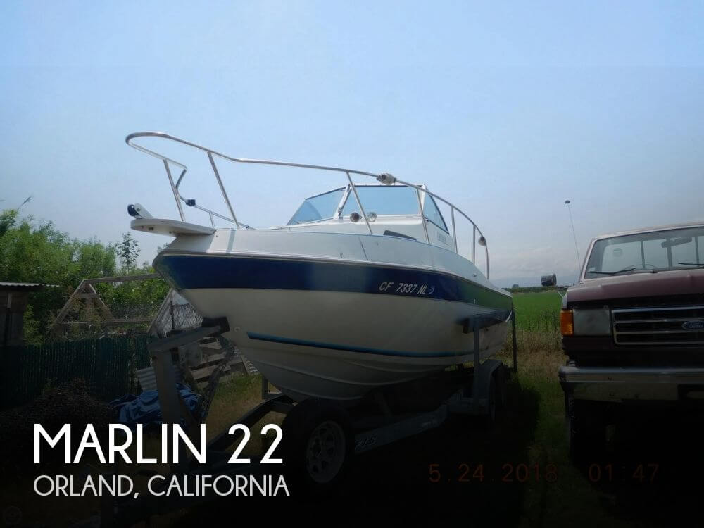 Used Marlin Boats For Sale by owner   1993 Marlin 22