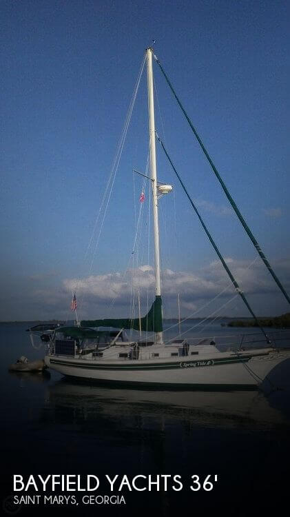 Used Sailboats For Sale in Georgia by owner | 1987 Bayfield Yachts 36