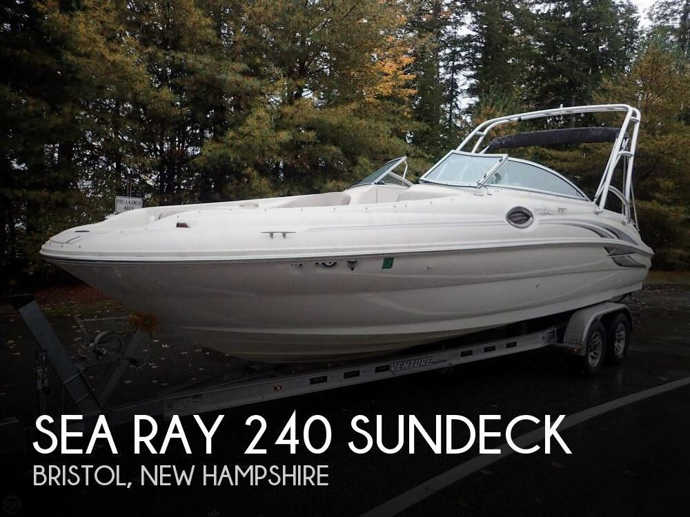 Used Sea Ray 240 sundeck Boats For Sale by owner   2004 Sea Ray 240 Sundeck