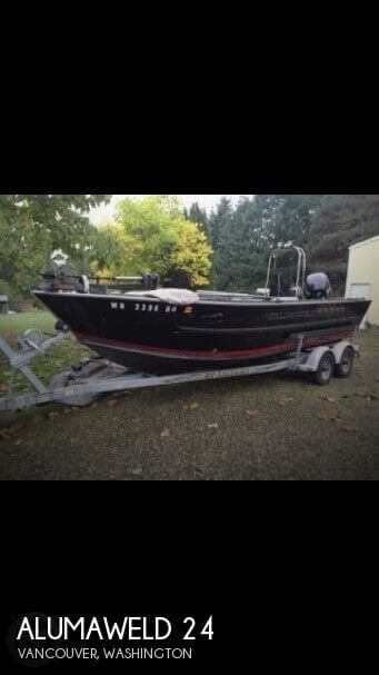 Used Fishing boats For Sale in Washington by owner | 1999 Alumaweld 24