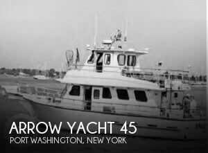 Used Boats For Sale in Bridgeport, Connecticut by owner | 1995 Arrow Yacht 45