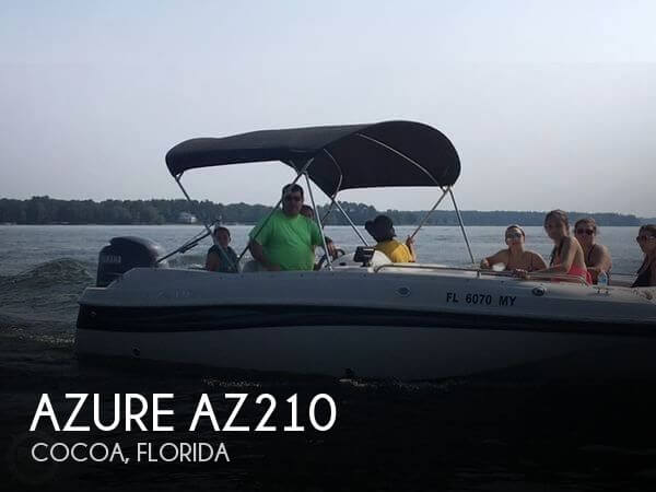 Used Boats For Sale by owner | 2006 Azure AZ210